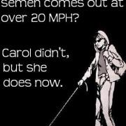 Carol is inmiddels een stuk wijzer. Carol wel…