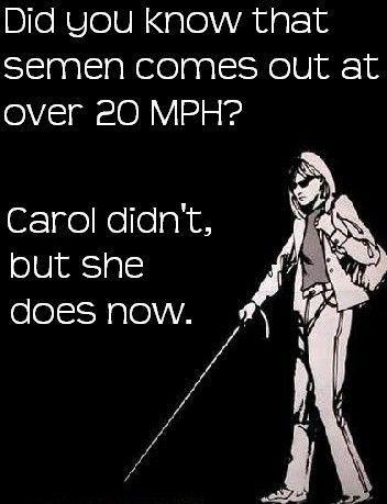 Carol is inmiddels een stuk wijzer
