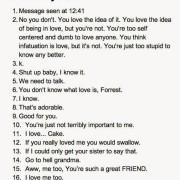 De meest slechte reacties op 'Ik hou van jou'