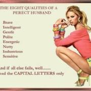 De acht kwaliteiten van een man zouden moeten zijn: