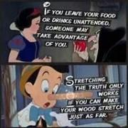 De dubbele boodschappen van Disney