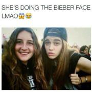 OMG! De tweelingzus van Justin Bieber!!