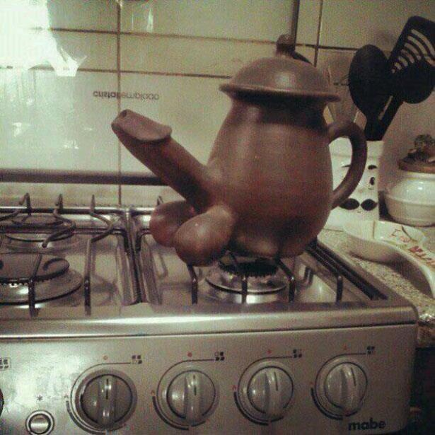 Im a little teapot, short and stout. Here is my handle, here is my spout…