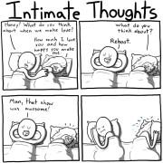 Intieme gedachten delen