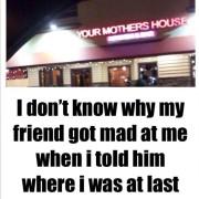 Waar was je gisteravond?
