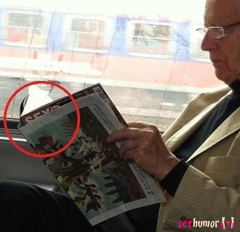 Betrapt opa!