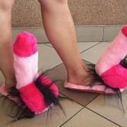 Sexy pantoffels!