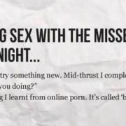 Online porno kan soms zo educatief zijn
